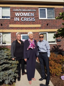 Funding received on behalf of Guelph-Wellington Women in Crisis from the Anti-Human Trafficking Community Support Fund.